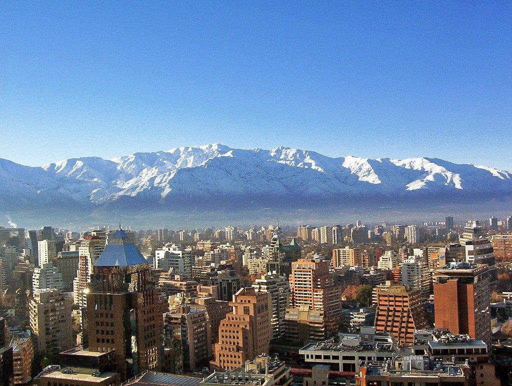 Chili Santiago Valparaiso