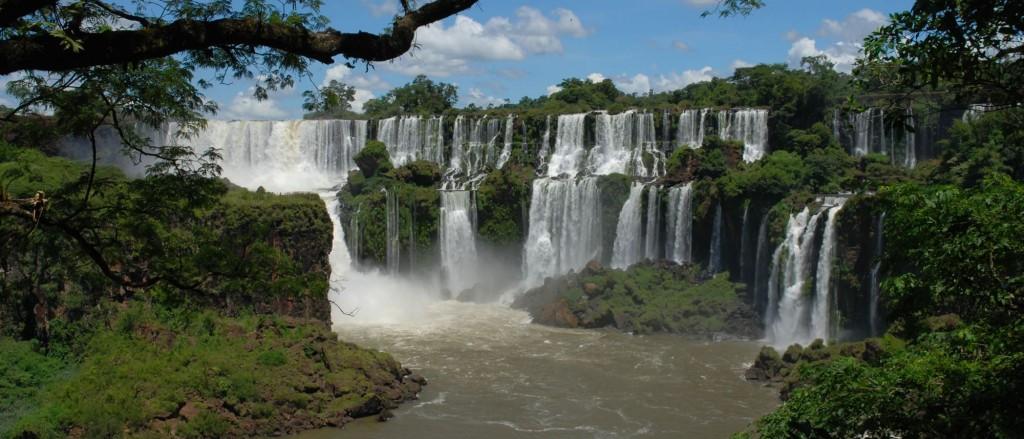 Argentine chutes Iguazu