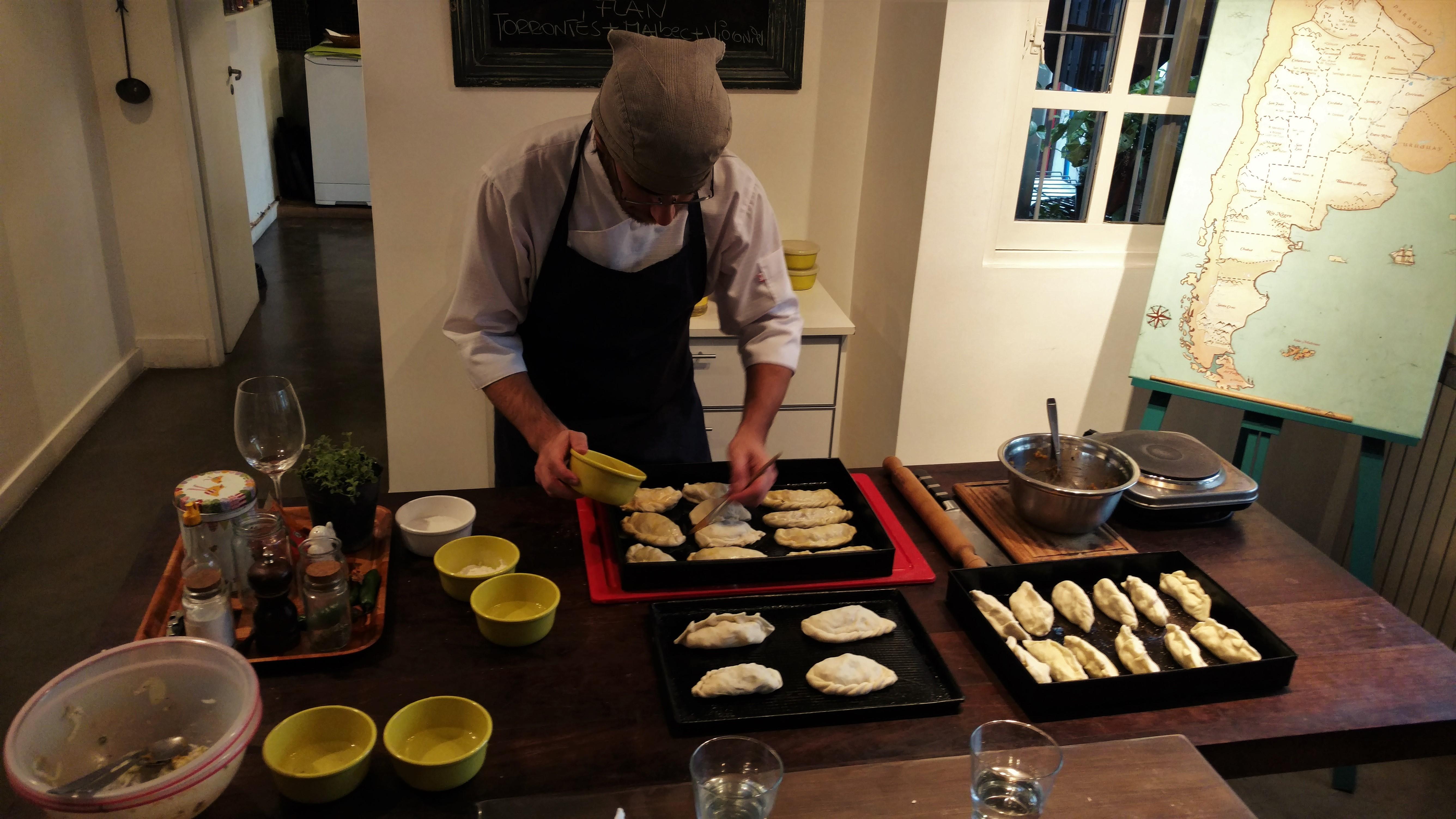 Cours de cuisine buenos aires argentine tierra latina - Cours de cuisine angers ...