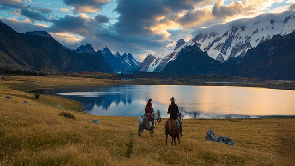 Patagonie Parc des Glaciers Randonnee a cheval