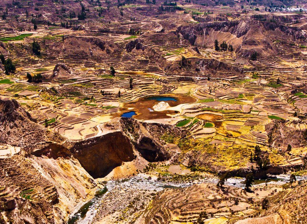 Perou canyon de Colca