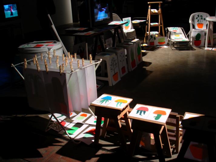 Buenos aires ArteBA la Rural centaines de galeries d'art