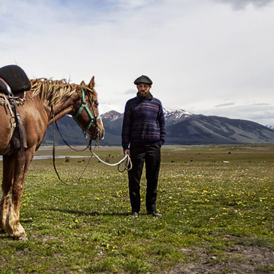 argentine patagonie estancia cheval gaucho paysage nature immersion cavalier ranch