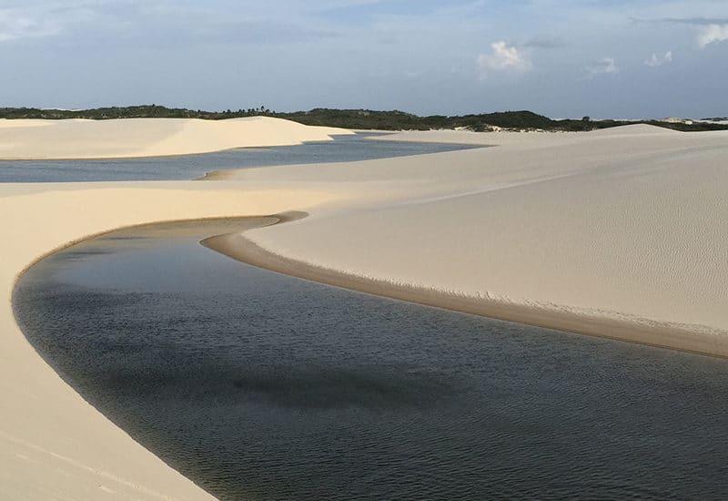 Bresil Atins Barreirinhas parc naturel Lençóis Maranhenses Nordeste sable