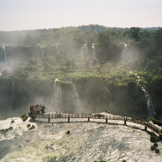 Chutes Iguazu immersion panorama jungle pmr