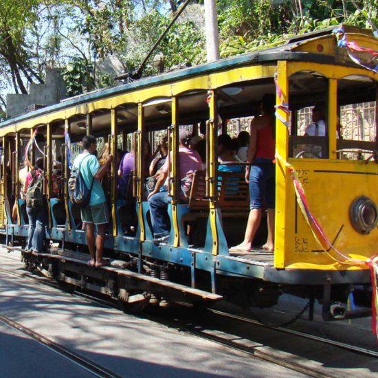 Bresil Rio de Janeiro santa teresa tramway
