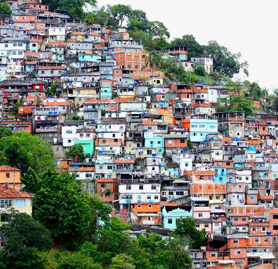 Bresil Rio de Janeiro favelas