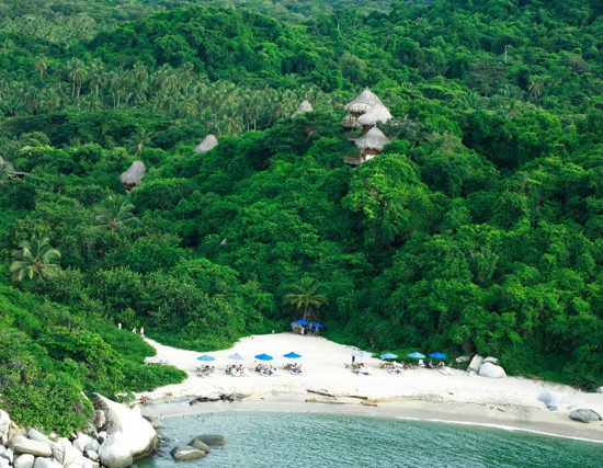 colombie tayrona plage paradisiaque forêt nature