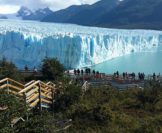 argentine parc national des glaciers perito moreno patagonie nature immersion passerelles montagne