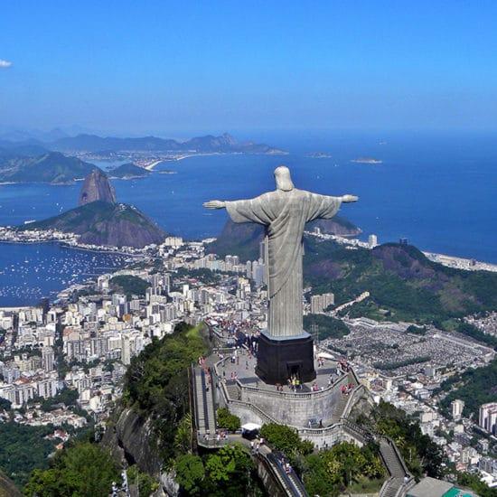 Bresil Rio de Janeiro christ rédempteur corcovado