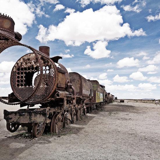 cimetière train salar uyuni bolivie