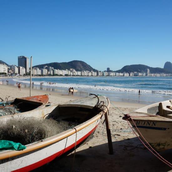 Bresil Rio de Janeiro copacabana plage