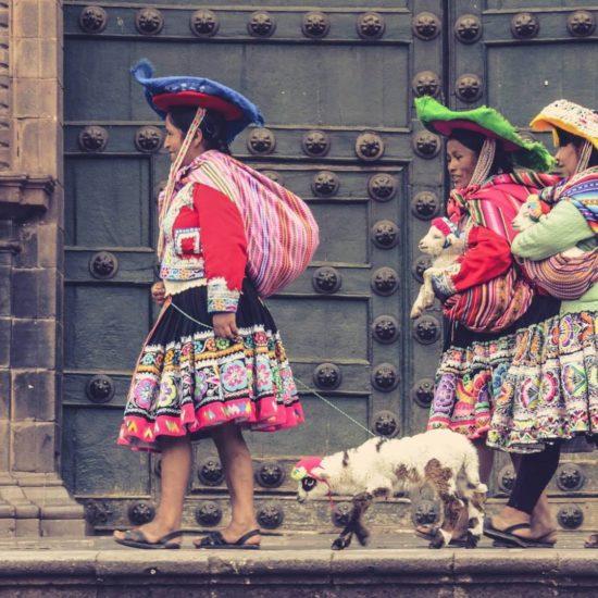 pérou cuzco habitants