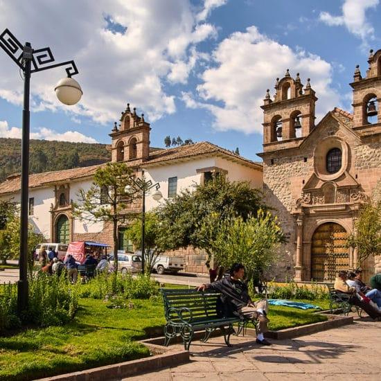 pérou cuzco église architecture coloniale