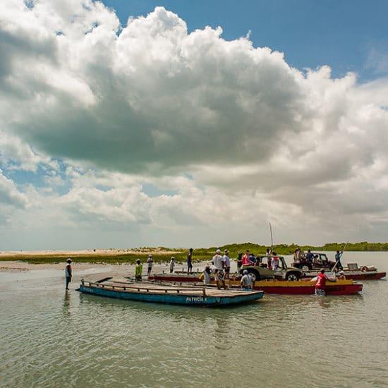 Bresil delta rio parnaiba nordeste bateaux