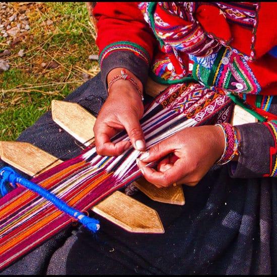 pérou habitant indigène couture tradition