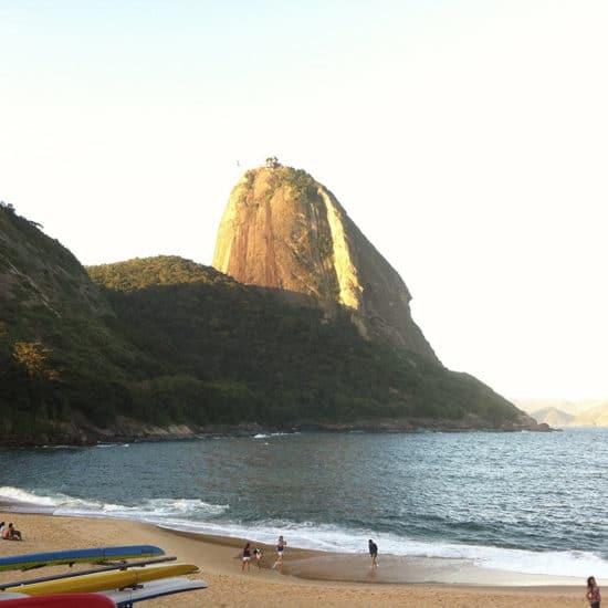 Bresil Rio de Janeiro plage Vermelha pain de sucre