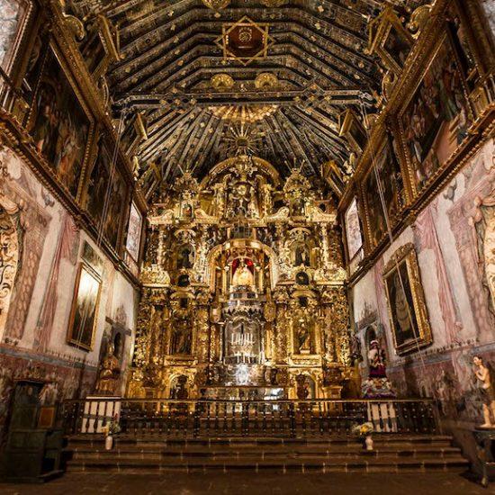 San Pedro Apostol pérou chapelle sixtine des andes