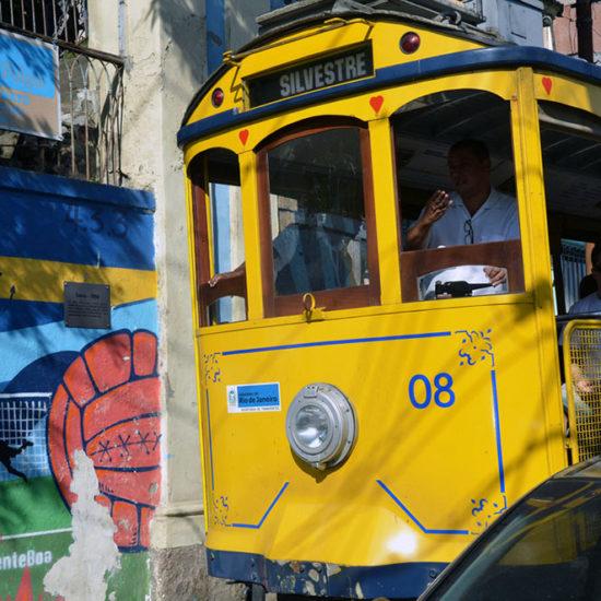 Santa Teresa Bresil Rio de Janeiro tramway