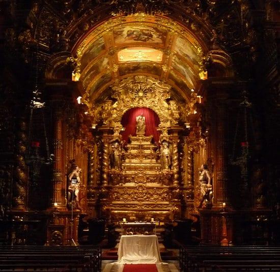 Sao Bento monastere Bresil Rio de Janeiro