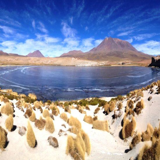 Chili montagne lac nature