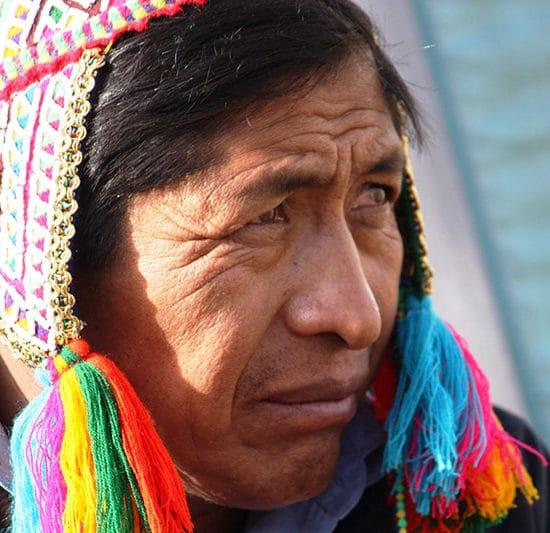 pérou indigènes habitants