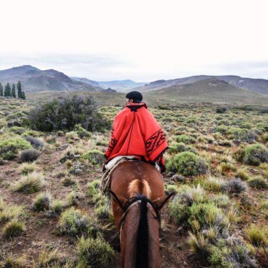 argentine patagonie bariloche gaucho immersion fermier balade cheval nature montagne paysage