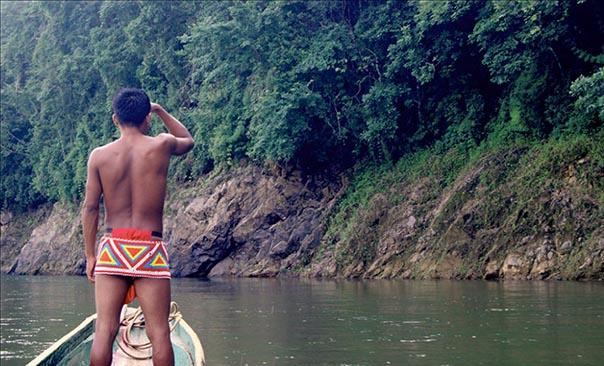 Panama Indiens Embera