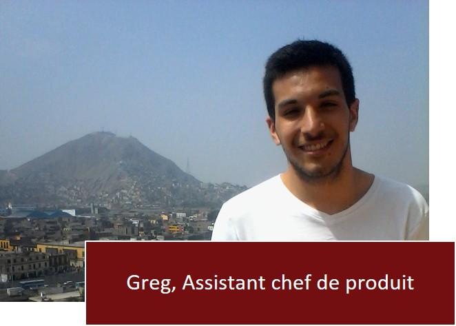 Tierra Latina - Greg Assistant chef de produit