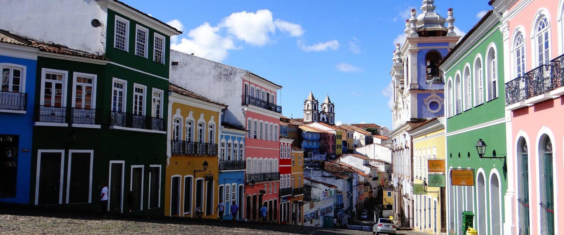 Bresil Salvador de Bahia Pelourinho centre historique