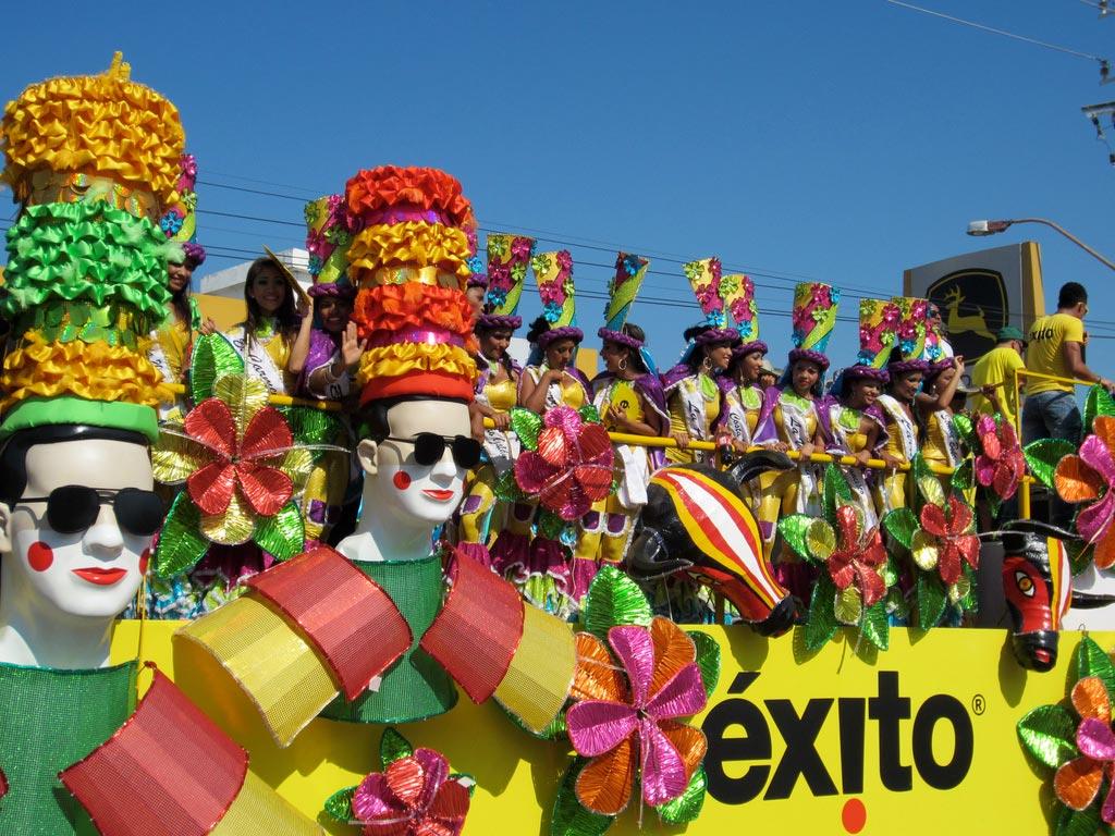 Colombie Carnaval de Barranquilla defile