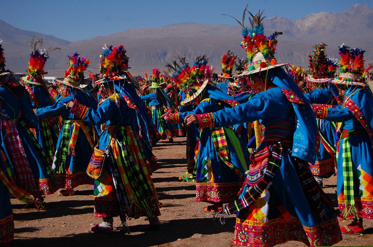 Chili fetes de la Virgen de la Guadalupe voyage sur mesure tierra latina