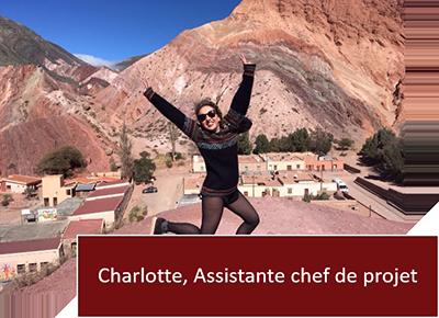 Tierra Latina - Charlotte Assistante chef de projet