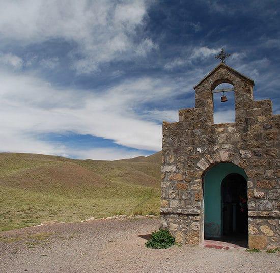 argentine cachi nord ouest argentin chapelle isolée nature montagne
