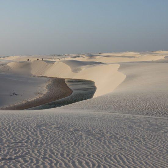 Bresil Parc national Lençóis Maranhenses Maranhão sable dune