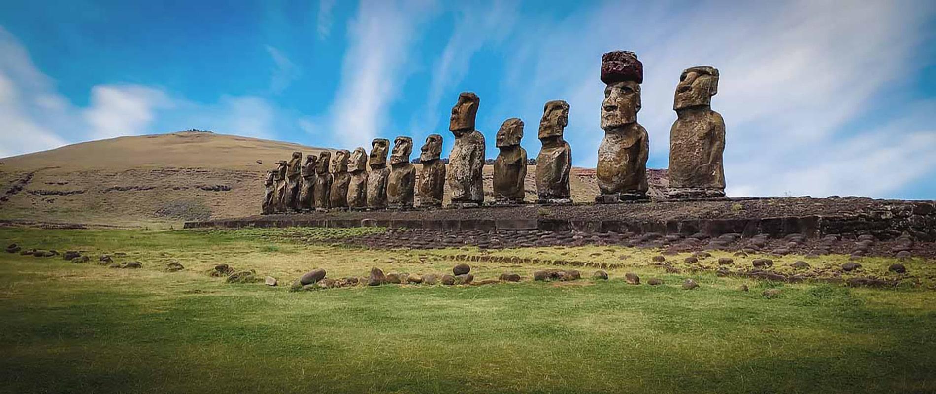 chili ile de paques voyage moaï statue