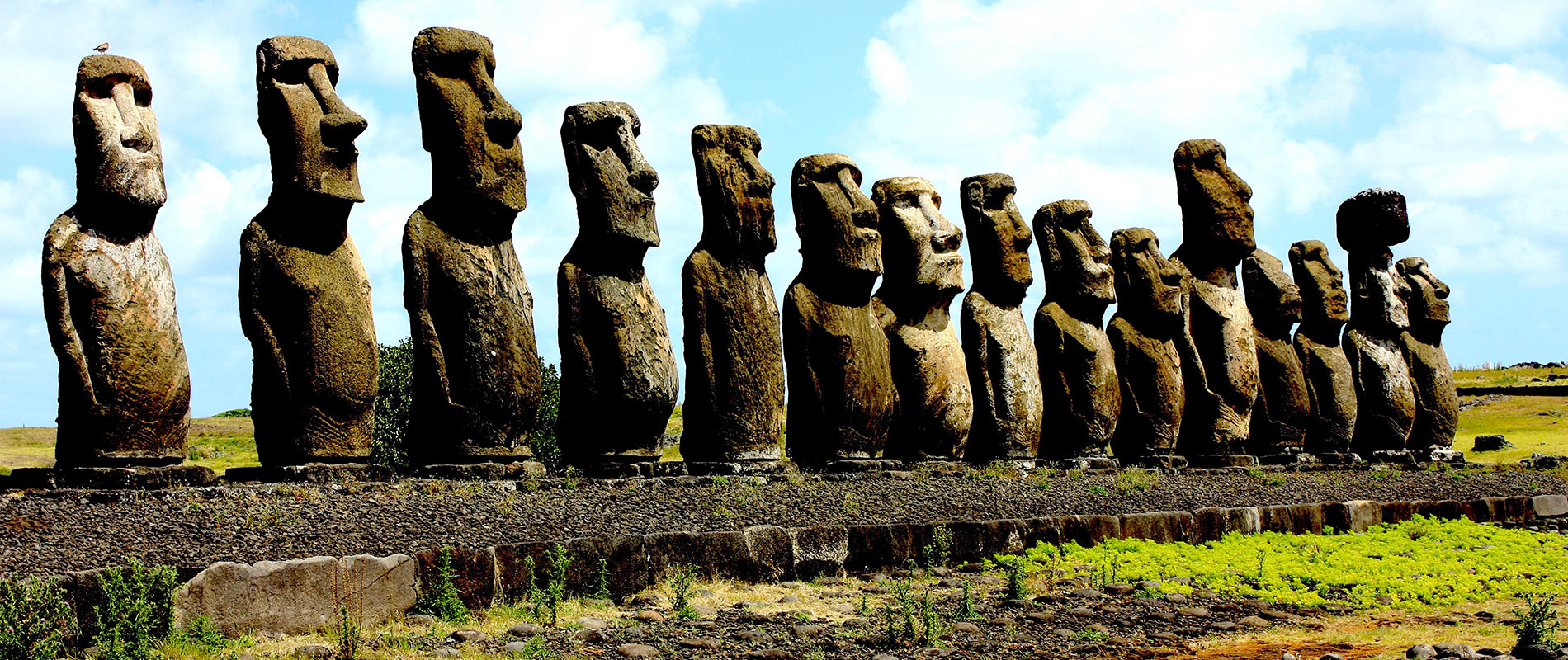 chili ile de paques voyage moaï statue Easter Island, Ahu Tongariki
