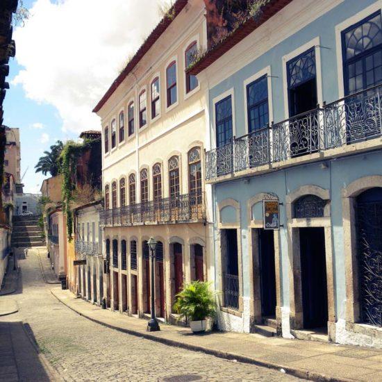 Sao Luis Bresil rue maison typique