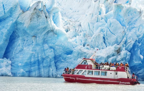 Chili torres del paine patagonie lac lago grey antarctique chilien croisière