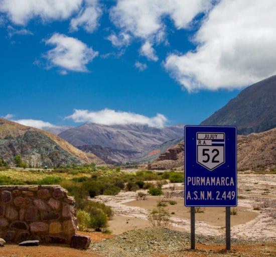 argentine salta purmamarca jujuy quebrada humahuaca nord ouest argentin montagne excursion paysage nature randonnée trek trekking route 52