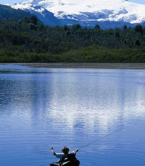 argentine patagonie 7 lacs bariloche nature paysage immersion parc national montagne cordillère andes float tube vue imprenable glaciers pêche pêcheur