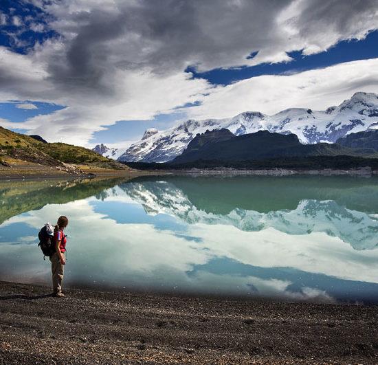 argentine parc national des glaciers lac magnifique beauté nature montagne dépaysement patagonie randonnée trek trekking