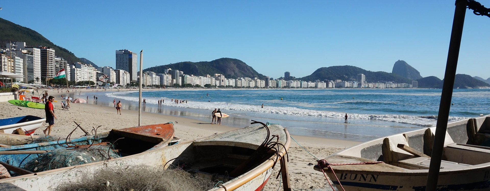 Copacabana Bresil Rio de Janeiro plage