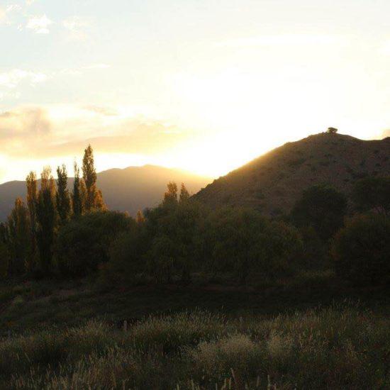 argentine nord coucher de soleil montagne nature