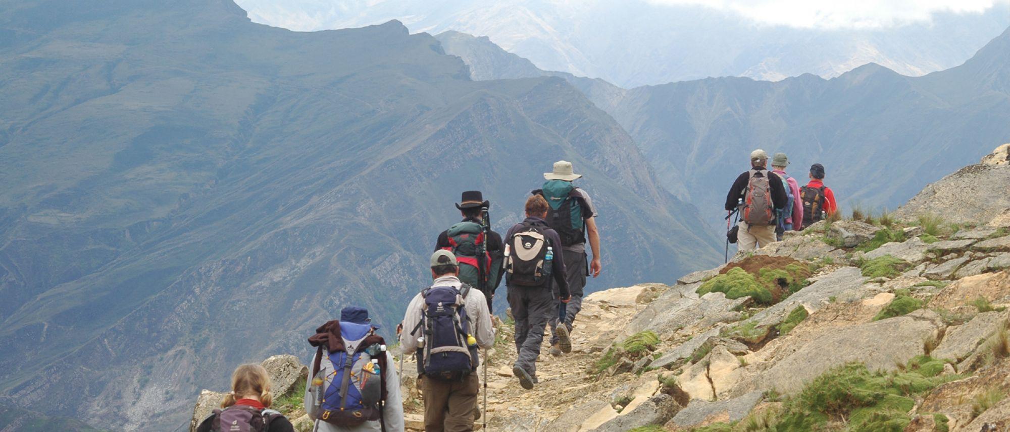 argentine salta nord ouest argentin trek trekking randonnée montagne excursion paysage nature