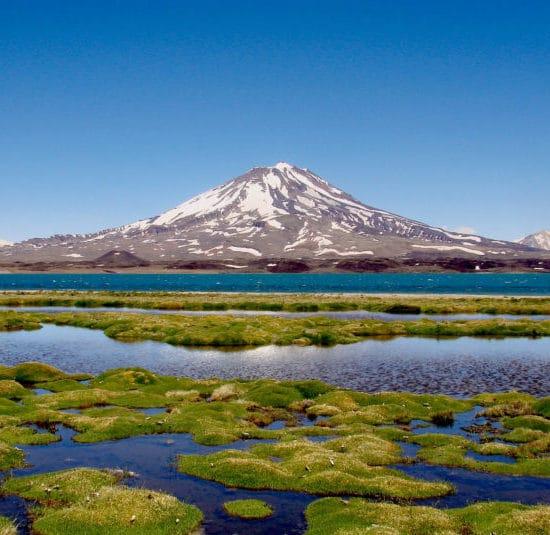 argentine montagne mendoza cordillère des andes lac