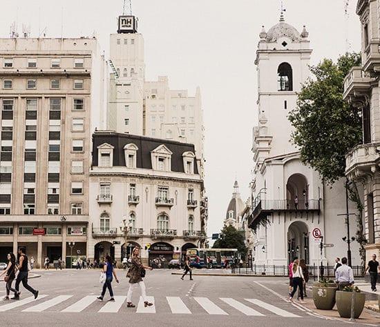 La Plaza de Mayo quartier de Montserrat Buenos Aires Argentine