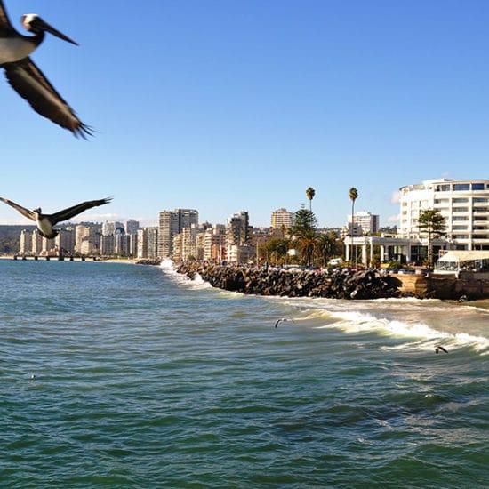 Chili vina del mar bord de mer côte plage