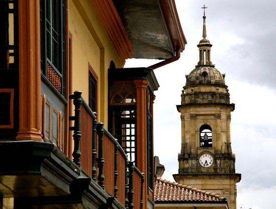 colombie bogota candelaria église architecture typique