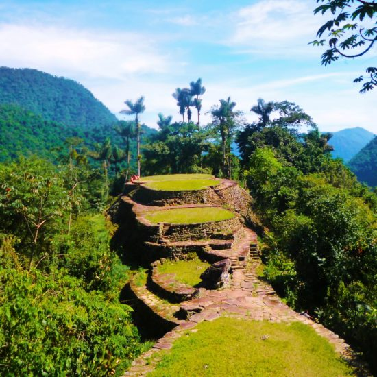 colombie chemin perdu santa marta plateaux vestiges randonnée faune flore découverte